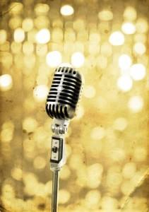 GoldMicrophone